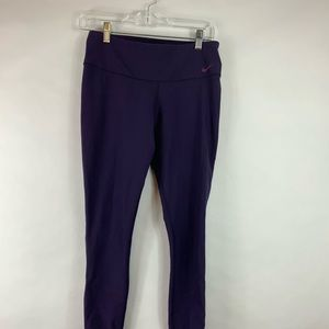 Nike dri-fit full length womens yogas with zipper